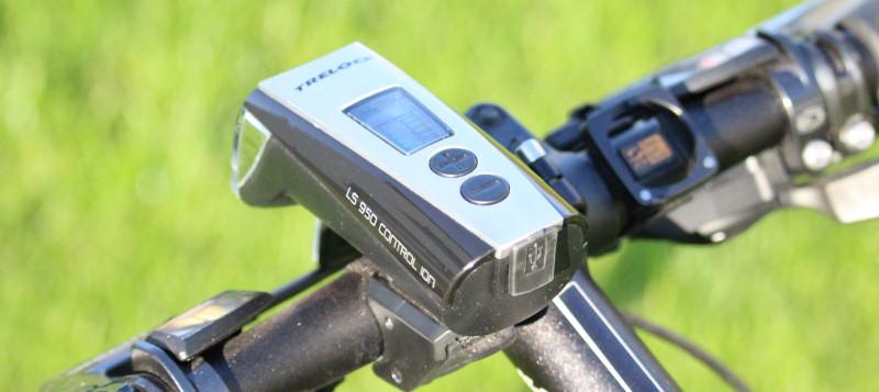 Fahrradlampe Trelock ls 950 lcd Display