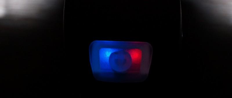 10 LUX Warnung Blau / Rot
