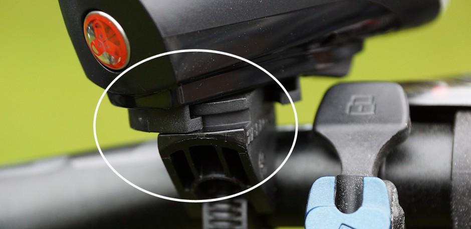 Drehbare Halterung Trelock Fahrradlampe