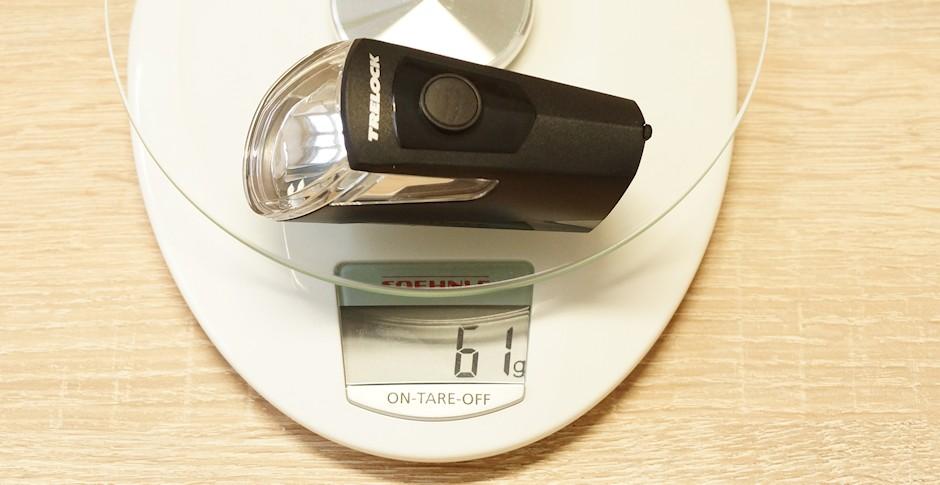 LS 360 IGO Gewicht auf Waage
