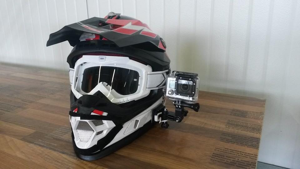 Motorradhelm Crosshelm Helmkamera