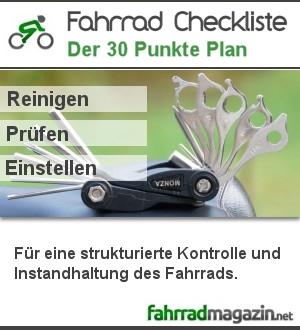 Fahrrad Checkliste