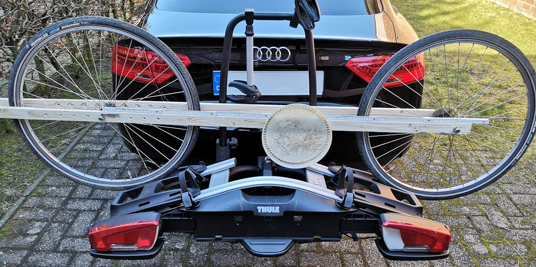 Thule Velocompact Radstand Test