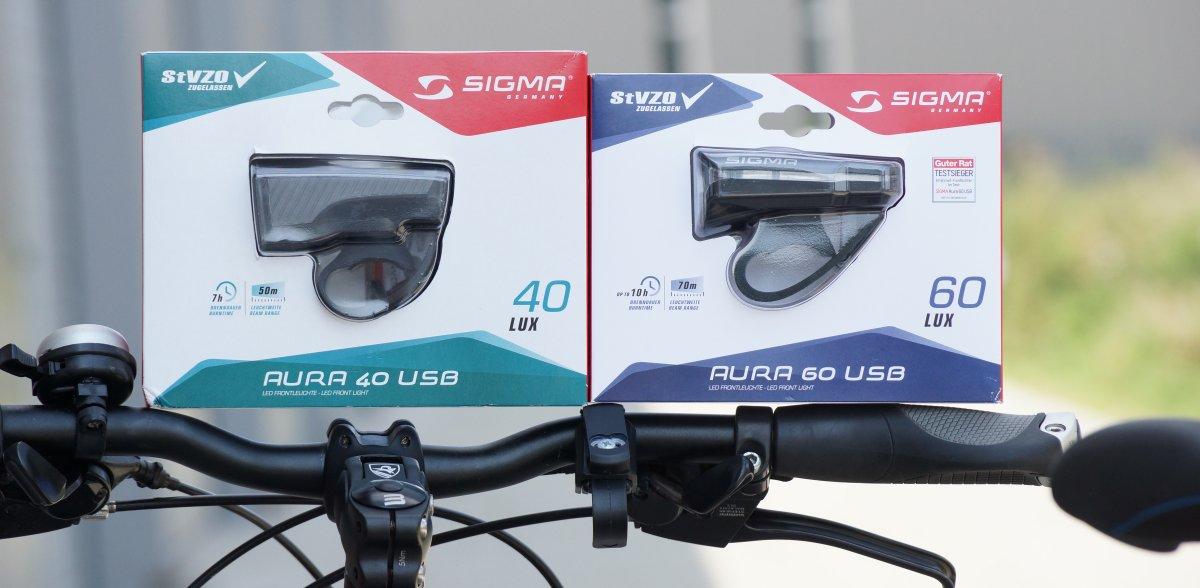 Sigma Aura 40 und 60 Verpackung
