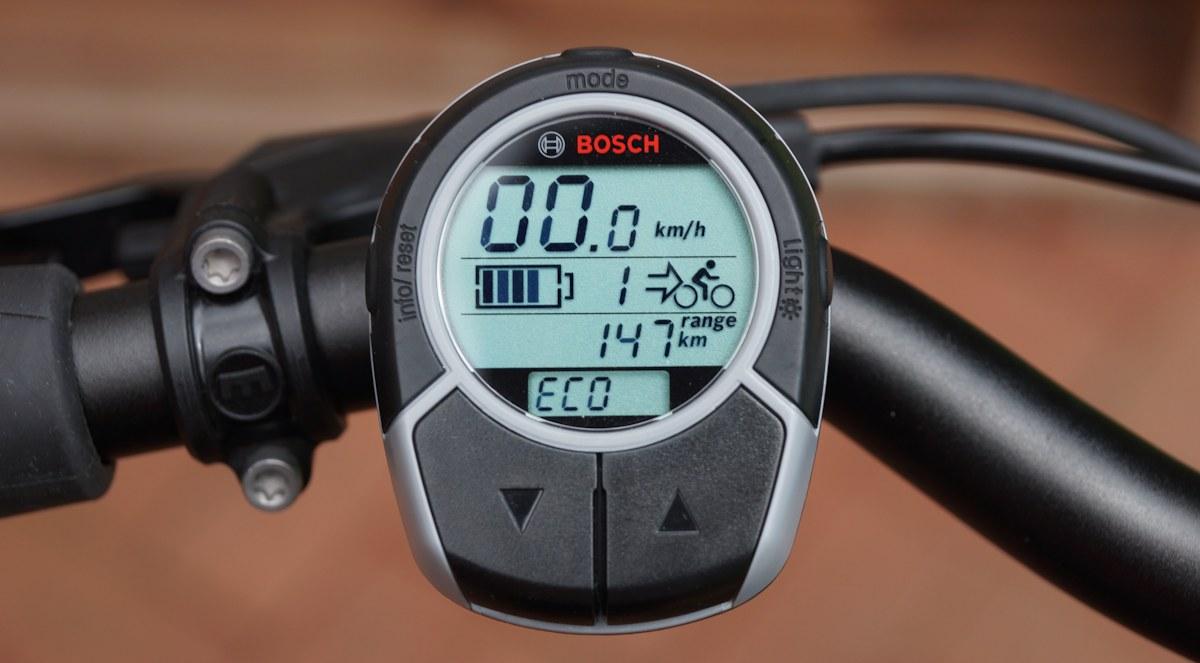 e-bike display elektronik