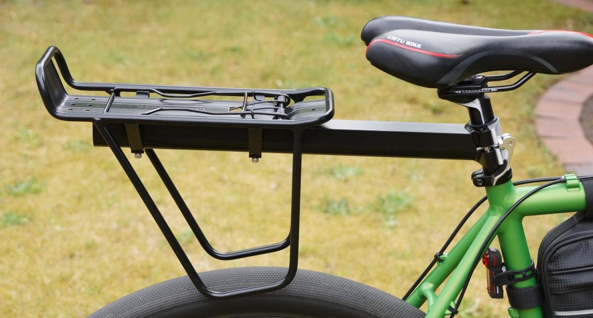 Fahrrad Gepäckträger für die Sattelstange