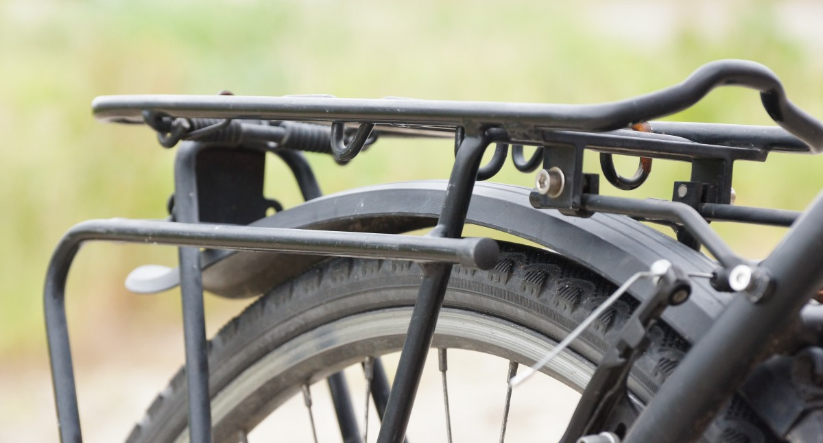 Gepäckträger Fahrradtaschen Strebe
