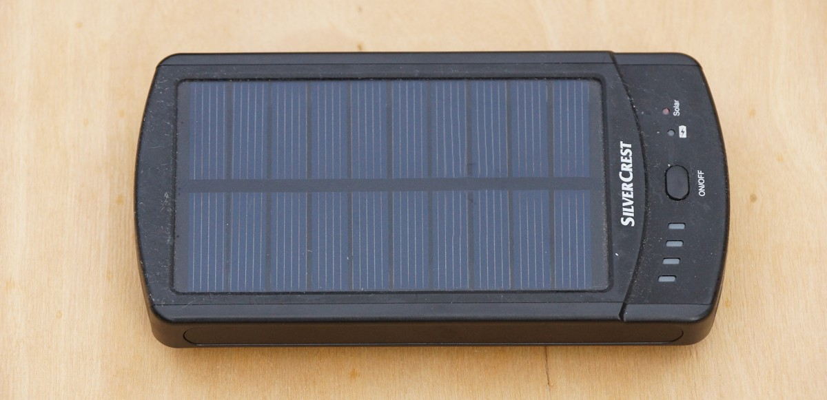 Powerbank mit Solar