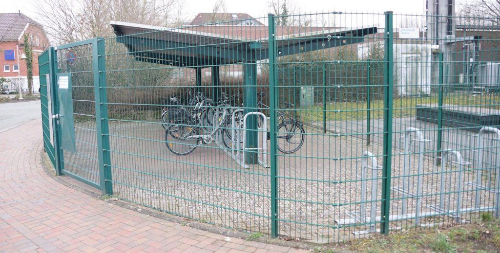 Fahrradabstellplatz Bike und Ride